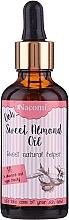 Parfumuri și produse cosmetice Ulei de păr - Nacomi Sweet Almond Oil