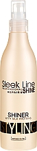 Parfumuri și produse cosmetice Spray-Luciu pentru păr - Stapiz Sleek Line Silk Shiner