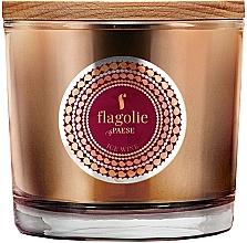 """Parfumuri și produse cosmetice Lumânăre aromată, în pahar """"Vin de gheață"""" - Flagolie Fragranced Candle Ice Wine"""