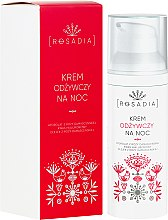 Parfumuri și produse cosmetice Cremă nutritivă de noapte pentru față - Rosadia