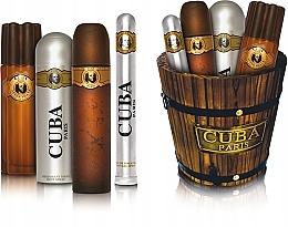 Parfumuri și produse cosmetice Cuba Gold - Set (edt/100ml+edt/35ml+ash/lot/100ml+deo/200ml)