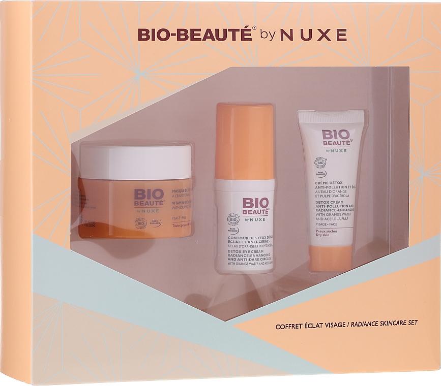 Set - Nuxe Bio Beauty Face Radiance Set (mask/50ml+cr/15ml+eye/concealer/15ml) — Imagine N1
