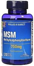 "Parfumuri și produse cosmetice Supliment alimentar ""Metilsulfonilmetan"", 750 mg - Holland & Barrett MSM 750mg"