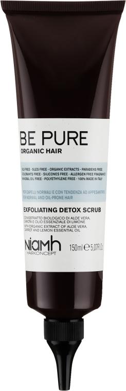 Exfoliant pentru scalp - Niamh Hairconcept Be Pure Detox Scrub — Imagine N1