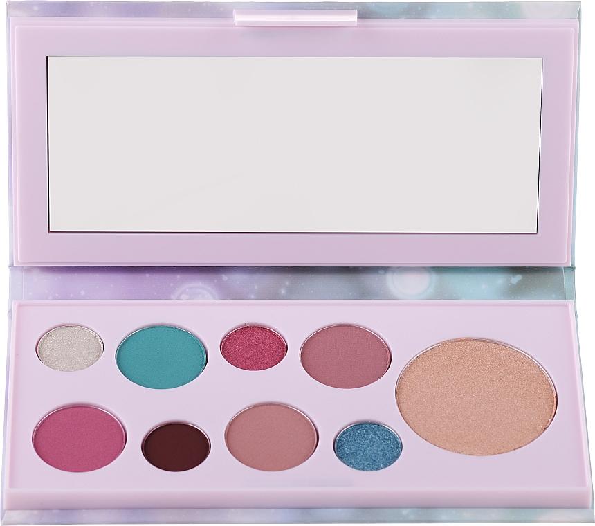 Paletă farduri de pleoape și iluminator - Avon Mark Pearlesque Treasure Palette For Eyes & Face