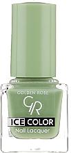 Parfumuri și produse cosmetice Lac de unghii - Golden Rose Ice Color Nail Lacquer