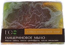 Parfumuri și produse cosmetice Săpun cu glicerină, citrice - ECO Laboratorie Citrus Hand Made Soap