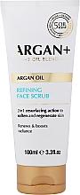 Parfumuri și produse cosmetice Scrub de curățare pentru față - Argan+ Argan Oil Refining Face Scrub