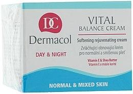 Cremă regenerantă pentru ten normal și combinat - Dermacol Face Care Vital Balance — Imagine N1