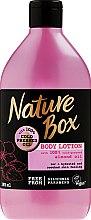 Parfumuri și produse cosmetice Loțiune hidratantă pentru corp - Nature Box Almond Oil