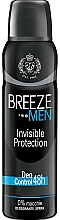 Parfumuri și produse cosmetice Breeze Deo Invisible Protection - Deodorant pentru corp