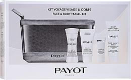 Parfumuri și produse cosmetice Set - Payot Face & Body Travel Kit (micel/milk/30ml + cr/15ml + b/scr/8ml + face/foam + bag)
