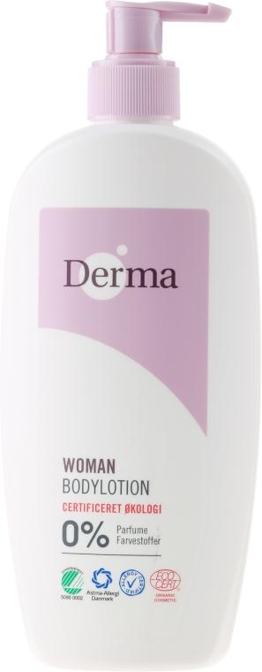 Loțiune de corp cu ulei de caise și aloe vera - Derma Eco Woman Body Lotion — Imagine N3