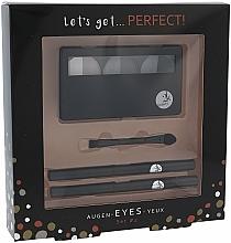 Parfumuri și produse cosmetice Set de machiaj pentru ochi - Cosmetic 2K Lets Get Perfect Eyes Set2 Grey