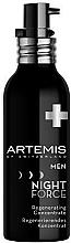 Parfumuri și produse cosmetice Concentrat revitalizant - Artemis of Switzerland Men Night Force Regenerating Concentrate