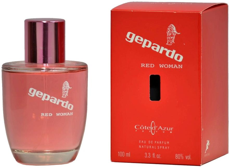 Cote d`Azur Gepardo Red Women - Apă de parfum