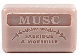 """Parfumuri și produse cosmetice Săpun de Marsilia """"Muscus"""" - Foufour Savonnette Marseillaise Musc"""