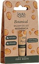 Parfumuri și produse cosmetice Balsam cu ulei de chihlimbar pentru buze - Laura Conti Botanical Lip Balm