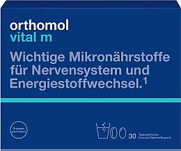 Parfumuri și produse cosmetice Vitamine granule + capsule + tablete (30 zile) - Orthomol Vital M