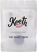 Parfumuri și produse cosmetice Set - Keeth Mint Charcoal Kit (toothbrush/1pc + toothpowder/15g + pack)