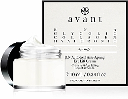 Parfumuri și produse cosmetice Cremă lifting pentru zona din jurul ochilor - Avant R.N.A. Radical Anti-Ageing Eye Lift Cream