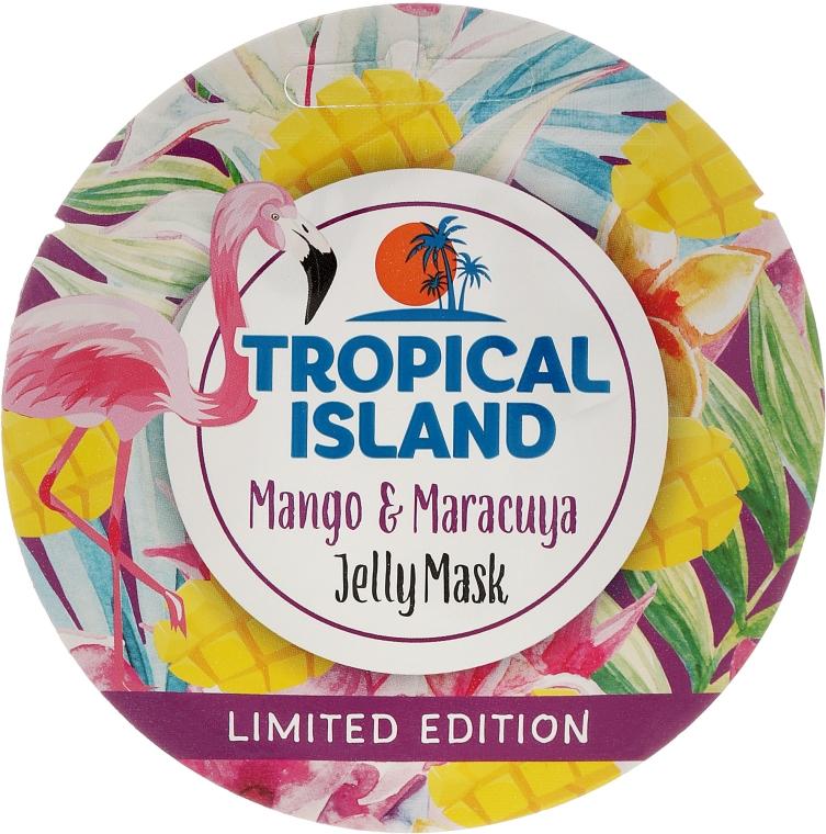 "Mască de față ""Mango și Marakuya"" - Marion Tropical Island Mango & Maracuya Jelly Mask"
