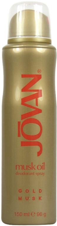 Jovan Musk Oil Gold Musk - Deodorant