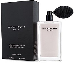 Parfumuri și produse cosmetice Narciso Rodriguez For Her Limited Edition With Atomizer - Apă de parfum