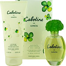 Parfumuri și produse cosmetice Gres Cabotine - Set (edt/100ml + b/lot/200ml)