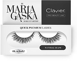 Parfumuri și produse cosmetice Gene false - Clavier Quick Premium Lashes Oh, So Fluffy! SK57