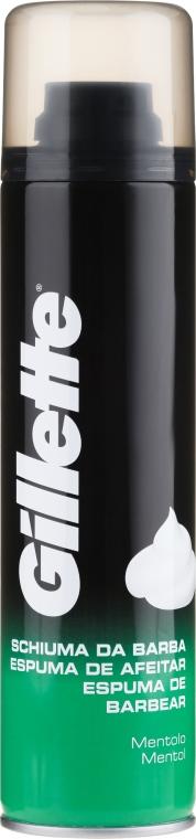 "Spumă de bărbierit ""Mentă"" - Gillette Menthol Shave Foam for Men"
