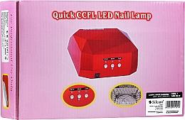Parfumuri și produse cosmetice Lampă pentru manichiură - Silcare Diamond LED CCFL UV 36W Lamp White