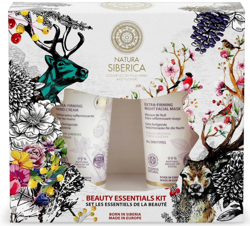 Set - Natura Siberica Natural & Organic Beauty Essentials Kit 1 (h/cr/75ml + mask/75ml) — Imagine N1