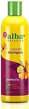 "Parfumuri și produse cosmetice Șampon regenerant ""Plumeria"" - Alba Botanica Natural Hawaiian Shampoo Colorific Plumeria"