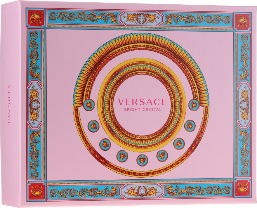 Versace Bright Crystal - Set (edt/50ml + b/lot/50ml + sh/gel/50ml)
