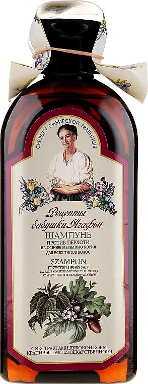 """Șampon """"Antimătreață"""" - Reţete bunicii Agafia"""