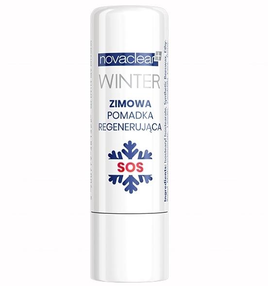 Balsam de buze - Novaclear Winter Regenerating Lip Balm