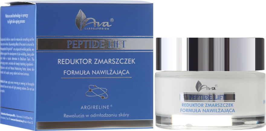 Cremă hidratantă antirid cu peptide pentru față - Ava Laboratorium Peptide Lift Cream — Imagine N1
