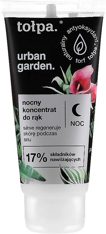 Concentrat de noapte pentru mâini - Tolpa Urban Garden Night Hand Concentrate