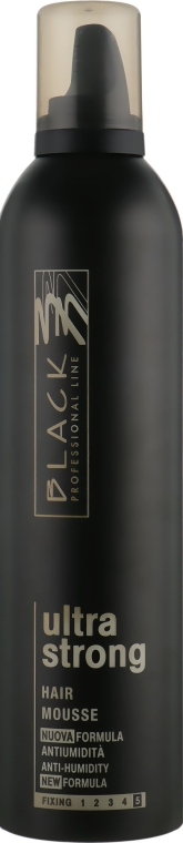 Mousse de păr, fixare extra puternică - Black Professional Line Extra Strong — Imagine N1