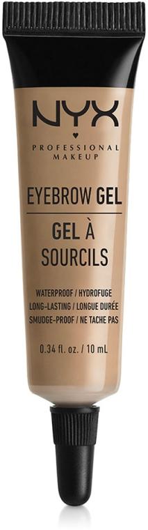 Gel pentru sprâncene - NYX Professional Makeup Eyebrow Gel