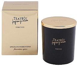 Parfumuri și produse cosmetice Lumânare aromată - Teatro Fragranze Uniche Speziato Fiorentino Scented Candle