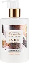 Parfumuri și produse cosmetice Cremă pentru mâini și unghii - Bielenda Professional Nailspiration Boho Moisturising Hand & Nail Cream