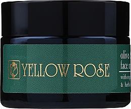 Parfumuri și produse cosmetice Mască cu ulei de măsline și extracte din plante pentru față - Yellow Rose Face Mask