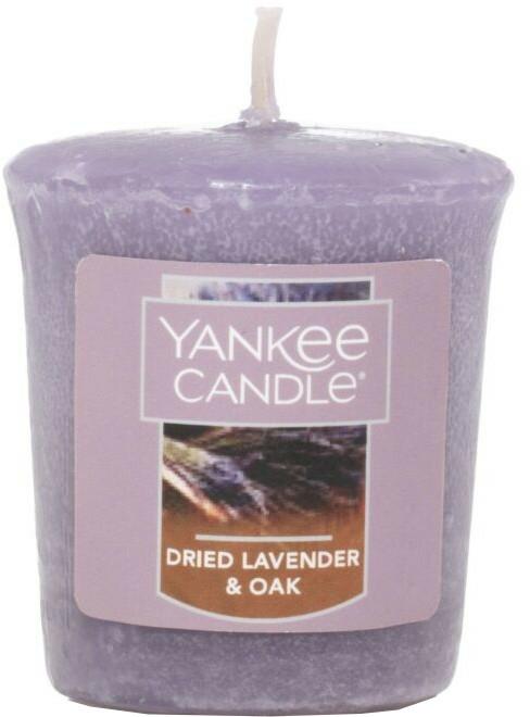 Lumânare aromată - Yankee Candle Dried Lavender & Oak  — Imagine N1