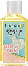 """Parfumuri și produse cosmetice Gel antibacterian de curățare pentru mâini """"Gin și Tonic"""" - Bubble T Cleansing Hand Gel Gin & Tonic"""