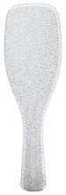 Perie de păr, paiete argintii - Tangle Teezer The Wet Detangler Popping Silver — Imagine N2