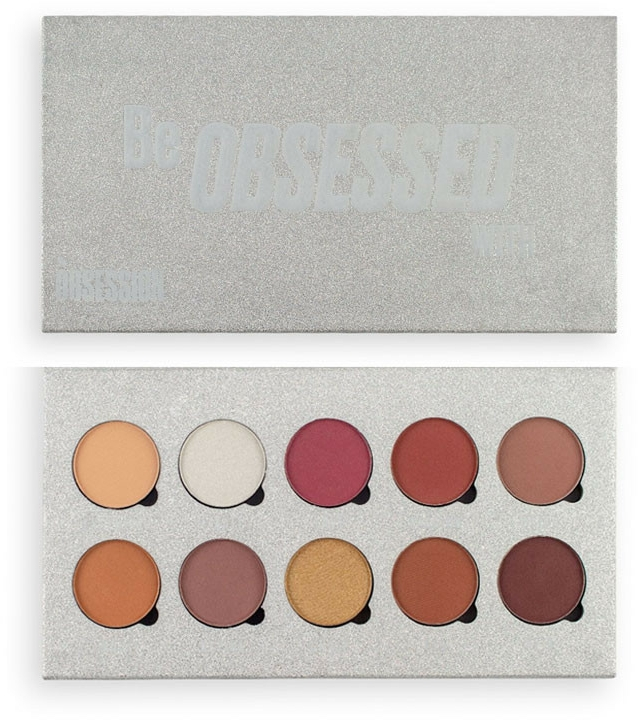 Paletă farduri de ochi - Makeup Obsession Be Obsessed With Eyeshadow Palette — Imagine N1