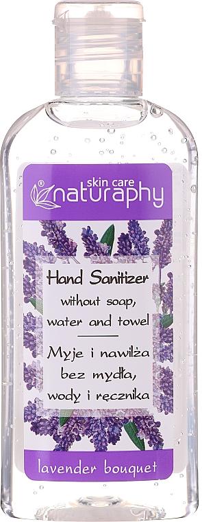 Gel cu alcool pentru mâini, aromă de lavandă - Bluxcosmetics Naturaphy Alcohol Hand Sanitizer With Lavender Fragrance (mini)