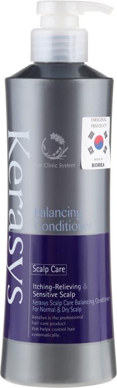 "Balsam pentru păr ""Tratament pentru scalp"" - KeraSys Hair Clinic System Conditioner — Imagine N1"